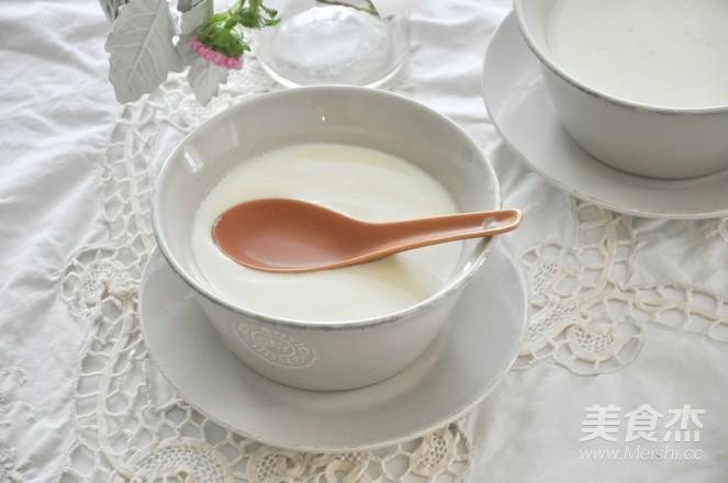 神奇的姜撞奶成品图