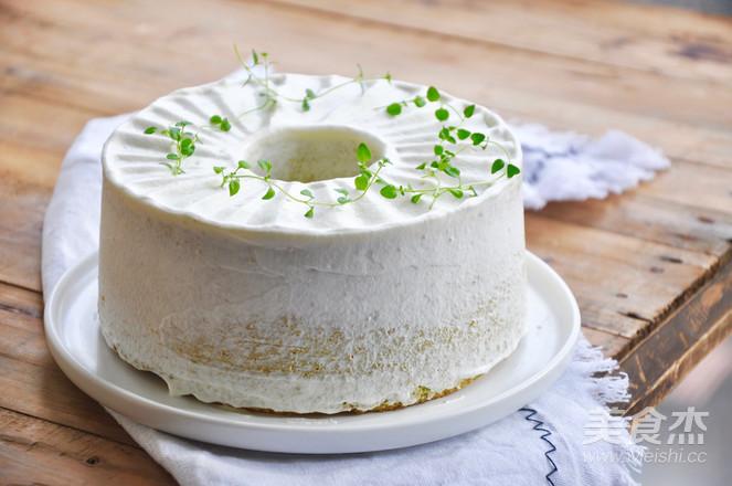 绿蛋糕~香兰戚风蛋糕成品图
