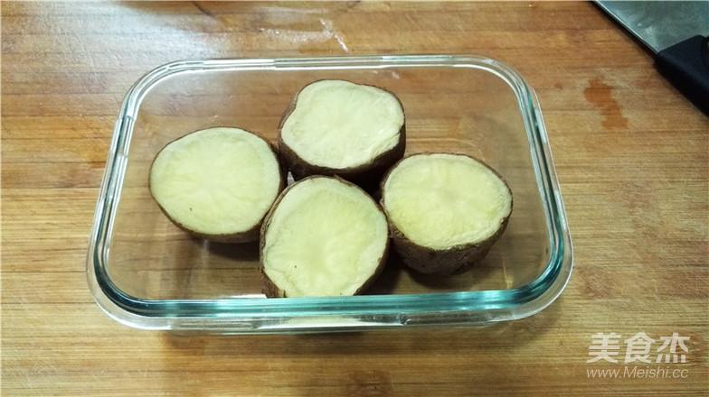 香焗土豆碗的简单做法