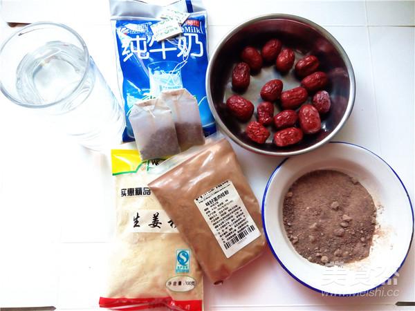 秋冬季养胃暖身最佳饮品--姜枣奶茶的做法大全