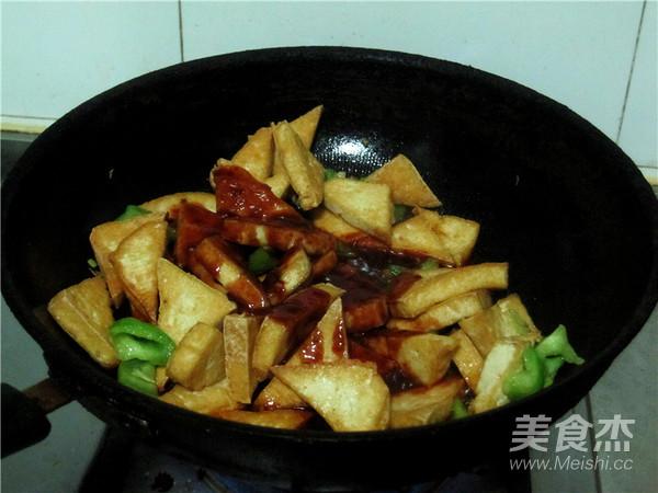 喜欢的味道--番茄糖醋豆腐的制作方法