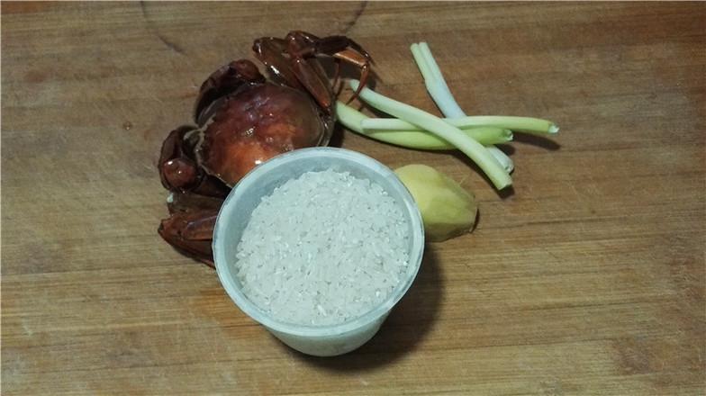 营养鲜香的毛豆香米蟹粥的做法大全