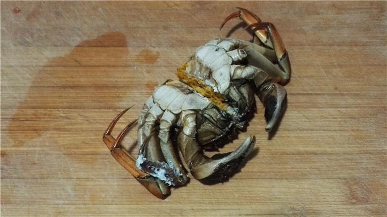 营养鲜香的毛豆香米蟹粥的家常做法