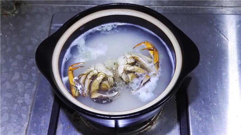 营养鲜香的毛豆香米蟹粥怎么煸