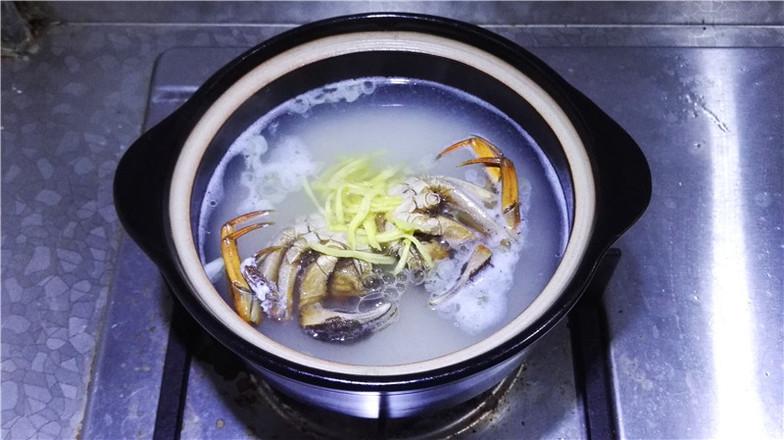 营养鲜香的毛豆香米蟹粥怎样煸