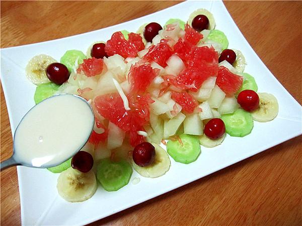 果蔬酸奶沙拉怎么煮