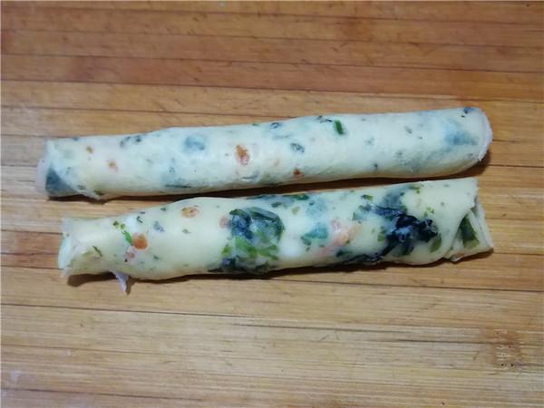 鱼籽海苔卷饼怎样煸