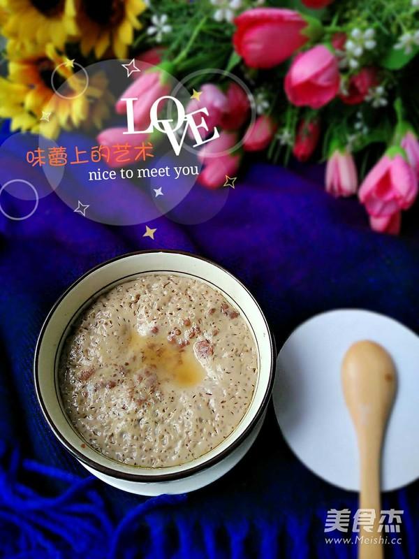姜汁炖蛋成品图