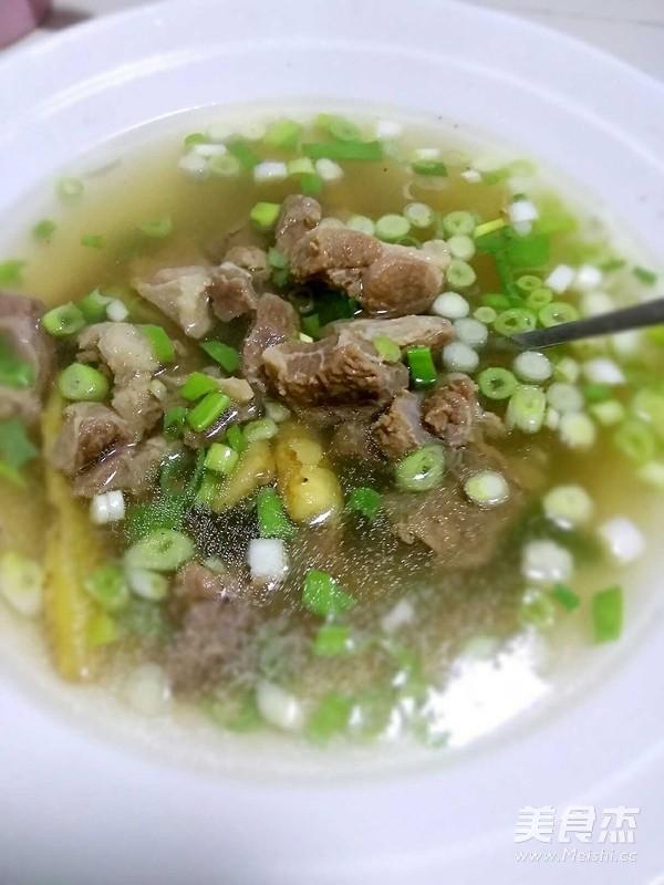 羊肉汤怎么炒
