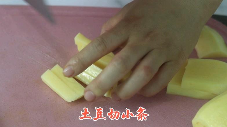 黑椒土豆条的做法图解
