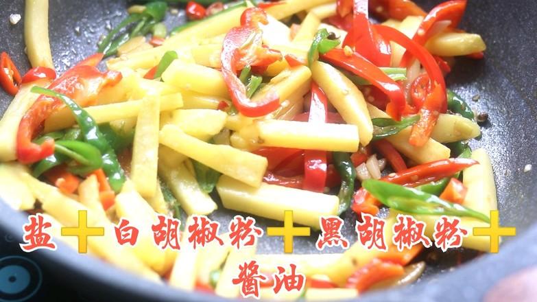 黑椒土豆条怎么炖