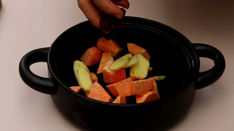 红薯红糖水的家常做法
