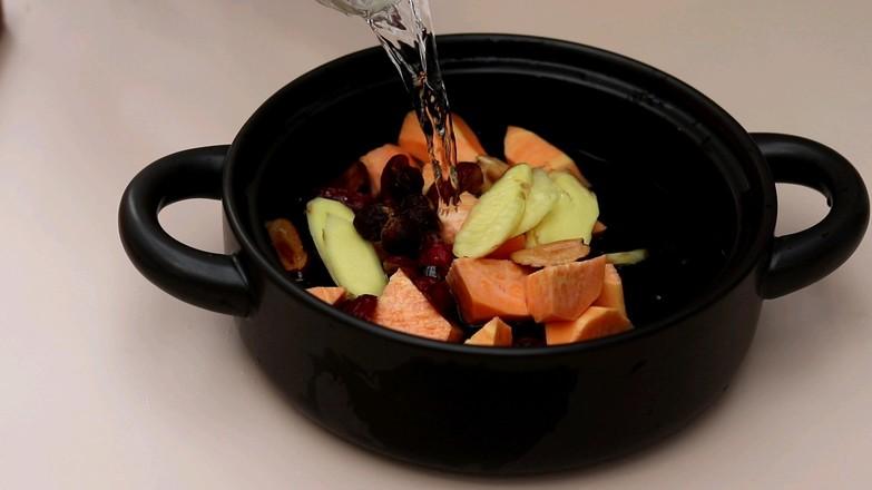红薯红糖水的简单做法