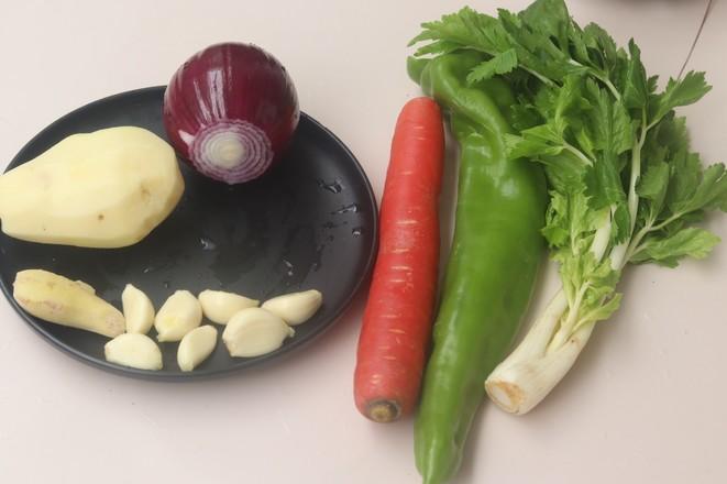 花甲三汁焖锅的做法图解