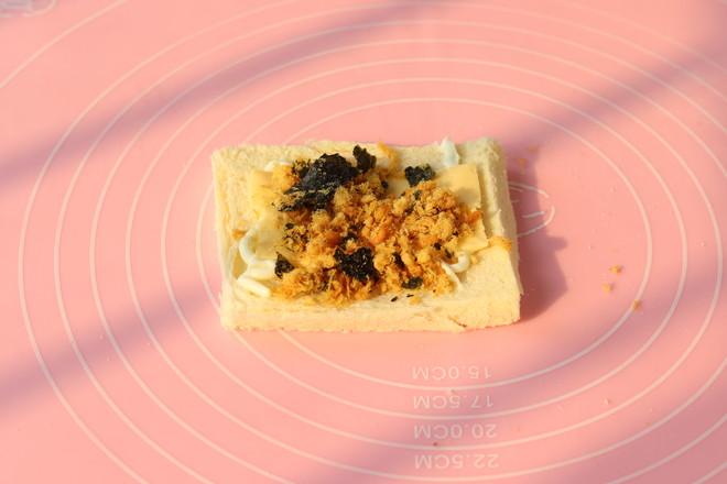 香葱吐司卷的做法图解