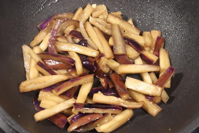 茄子烧豇豆的简单做法