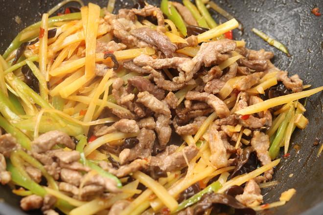 鱼香土豆肉丝怎么煮