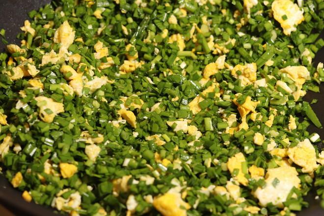 韭菜鸡蛋虾皮饺子的简单做法