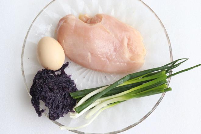 鸡肉丸鸡蛋紫菜汤的做法大全
