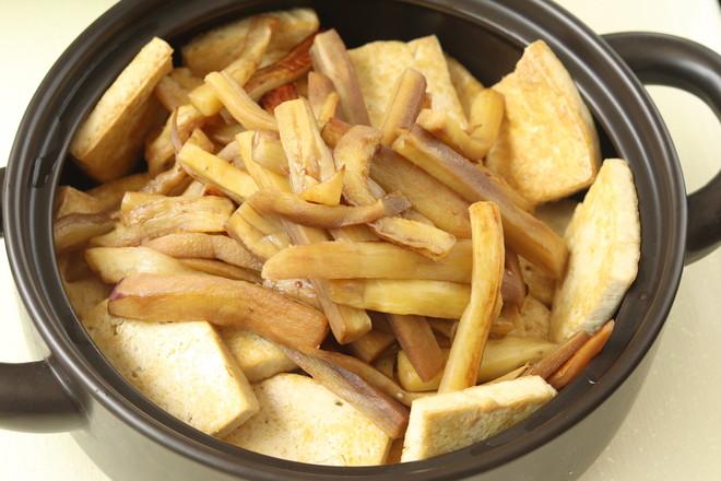 豆腐肉末茄子煲怎么吃