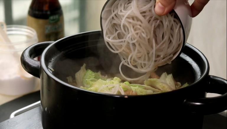 白菜猪肉炖粉条怎么吃
