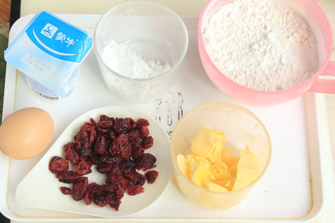 蔓越莓酸奶司康的做法大全