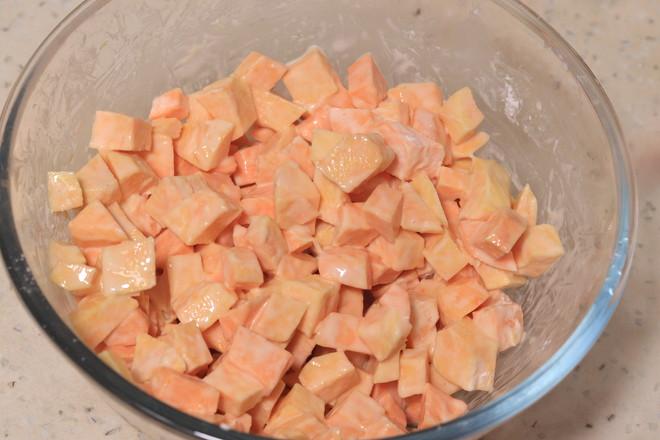 香脆红薯饼的简单做法