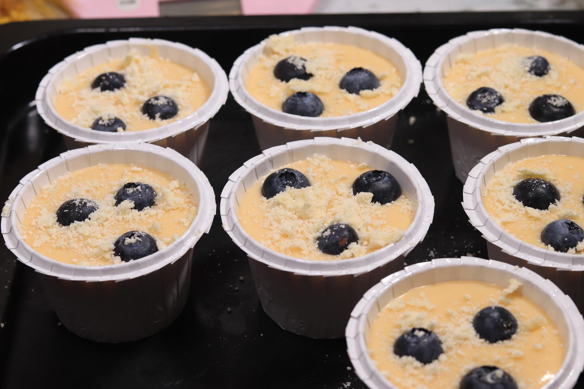 星爸爸同款爆浆蓝莓蛋糕怎么做