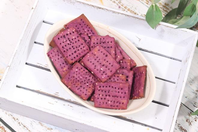 紫薯饼干,外酥里软怎么做