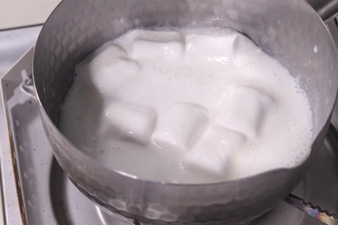 棉花糖牛奶慕斯的做法图解