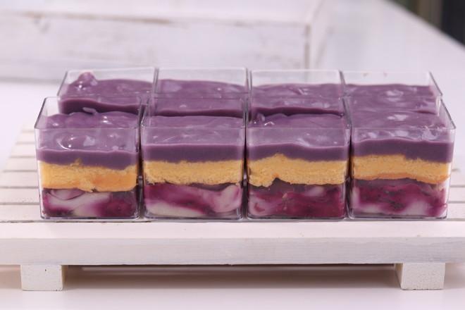 麻薯芋泥肉松蛋糕怎么做
