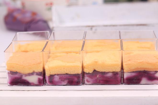 麻薯芋泥肉松蛋糕怎么吃