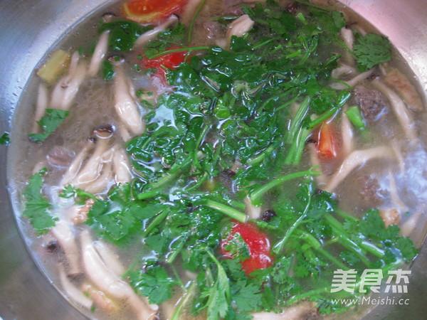 牛肉丸浓汤怎么炒