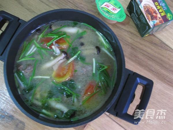 牛肉丸浓汤怎么煮