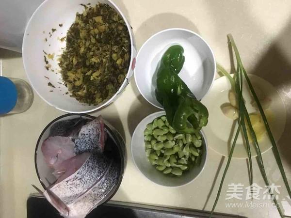小咸菜毛豆红烧鱼的做法大全