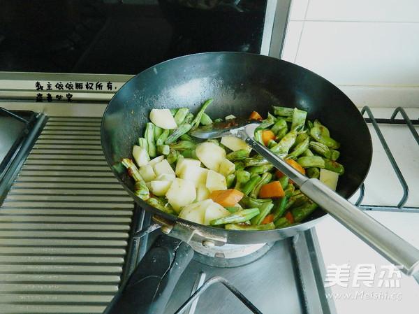 芸豆炖土豆怎么炒