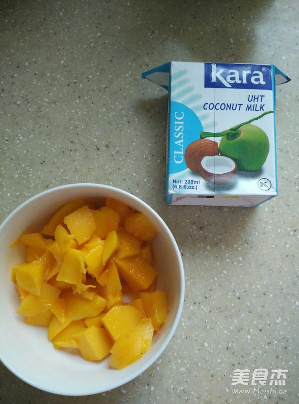 芒果椰浆西米露的家常做法