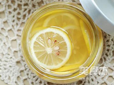 柠檬蜜成品图