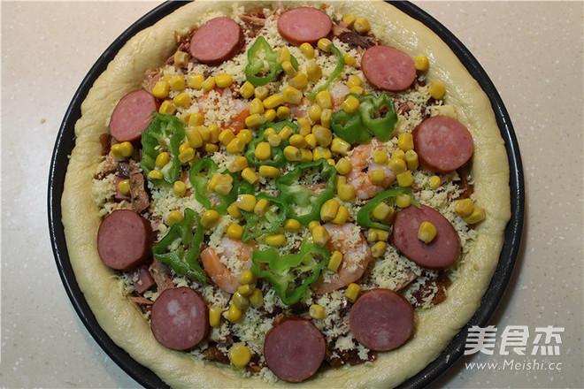 披萨怎么煮