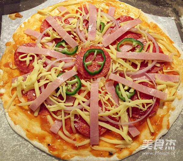 披萨的简单做法