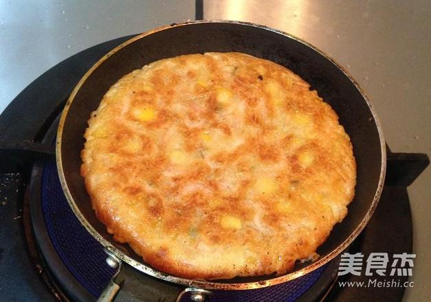 玉米虾烙怎么做