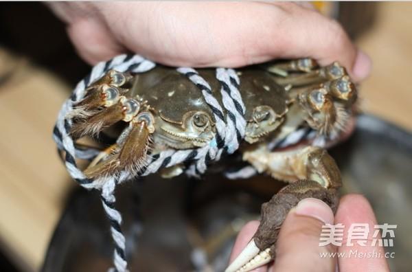 清蒸大闸蟹的做法大全