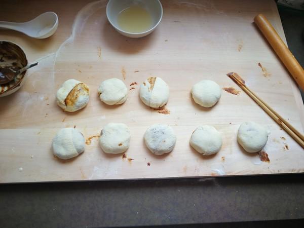 麻酱烧饼综合详细版的步骤