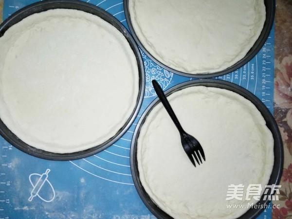 自制披萨饼坯的做法大全