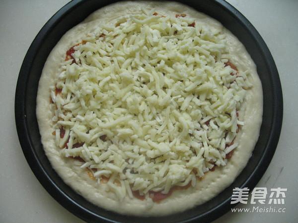 意式鲜虾肉丸披萨的制作方法