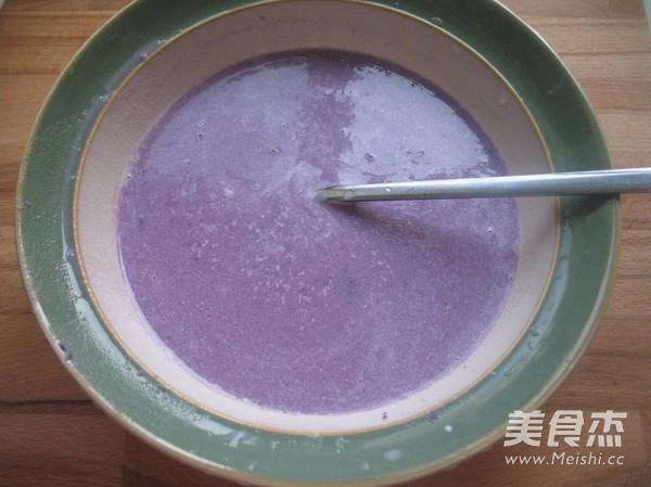 紫薯红豆沙吐司的家常做法