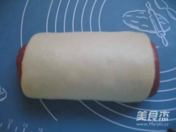 西瓜吐司的制作方法