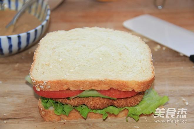 柏翠烤鸡排三明治VS鲜奶燕麦吐司的做法大全