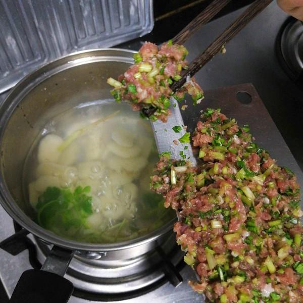 香菜肉沫汤怎么煮