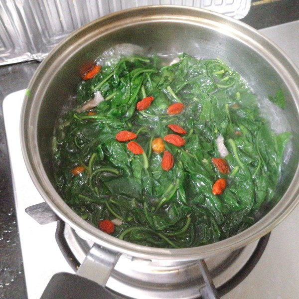 枸杞叶汤怎么煮
